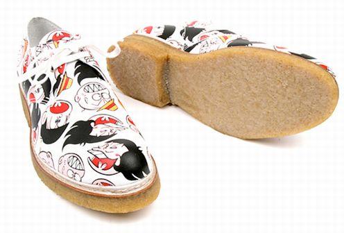 赤塚不二夫「おそ松くん」×コム・デ・ギャルソンの靴、海外で話題に。