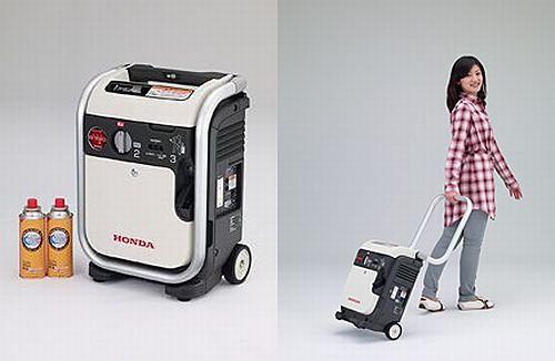 家庭用カセットボンベで動く発電機「エネポ」、ホンダが5月 ...