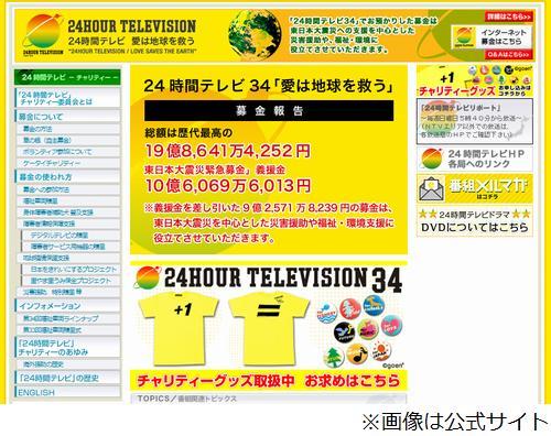 歴代 24 パーソナリティ テレビ 時間
