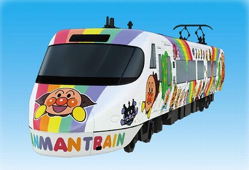 新たなアンパンマン列車が登場、JR四国が来春8000系特急形電車で。