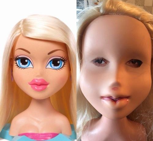 """【ネットで話題】おもちゃの人形の""""すっぴん""""に反響 ->画像>16枚"""