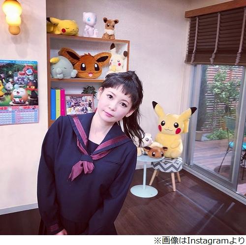 短い前髪の中川翔子
