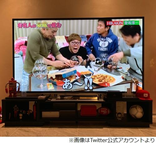 【テレビ】松本人志、HIKAKIN宅で350万円のワインこぼす